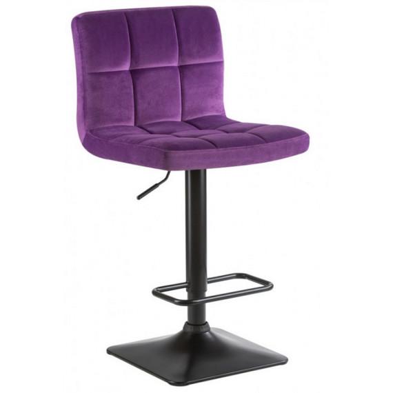 Стул барный КУРТ WX-2320 велюр/фиолетовый