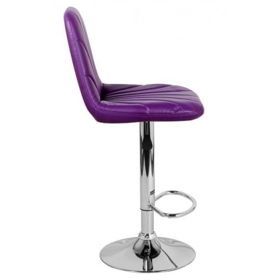 Стул барный НЕРОН WX- 2711 экокожа/фиолетовый