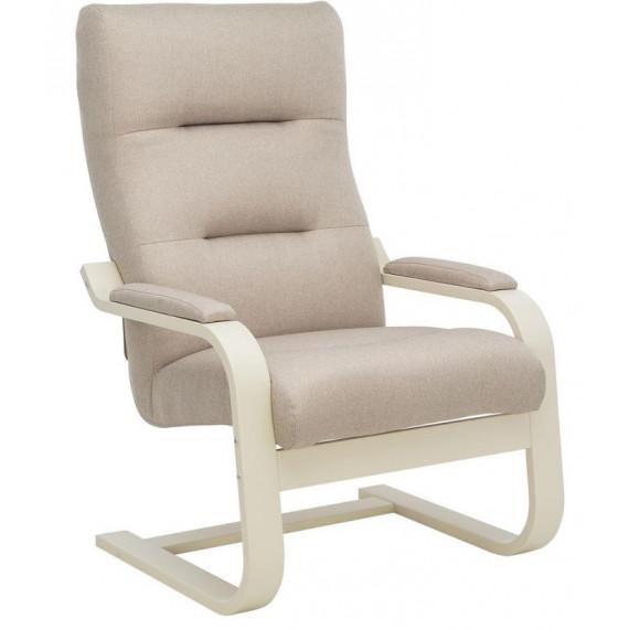 Кресло Leset Оскар Слоновая кость, ткань Малмо 05