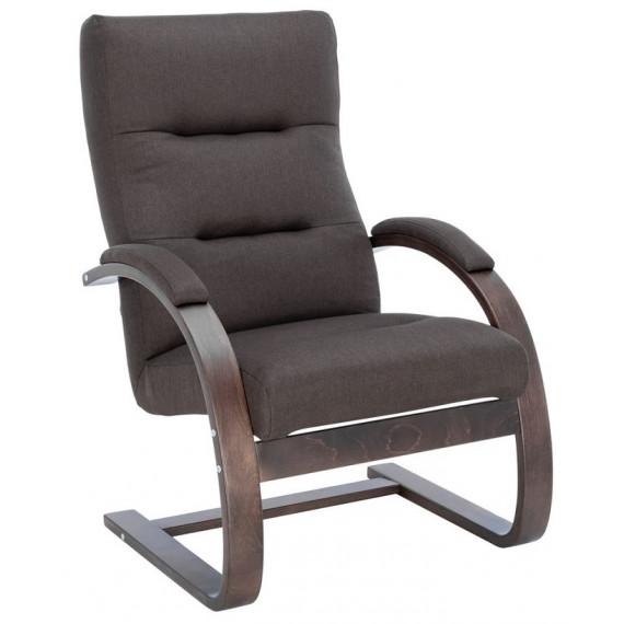 Кресло Leset Монэ Орех текстура, ткань Малмо 28