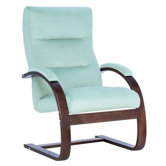 Кресло Leset Монэ Орех текстура, V14 бирюзовый