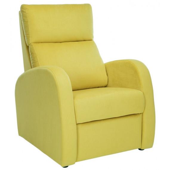 Кресло реклайнер Leset Грэмми-1 Ткань V 28 желтый