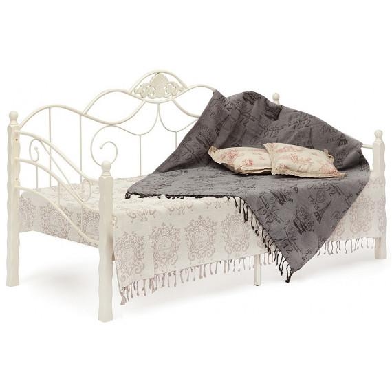 Кровать Canzona 90х200 см Wood slat base (Day bed), butter white