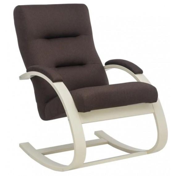 Кресло-качалка Милано (Слоновая кость/ткань Малмо 28)