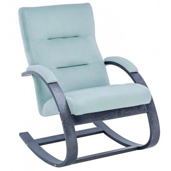 Кресло-качалка Милано (Венге/ткань ткань V 14)