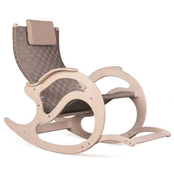 Кресло-качалка К-4 (беленый дуб / 01)