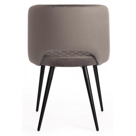 Кресло WIND (mod. 717) серый barkhat 26/черный