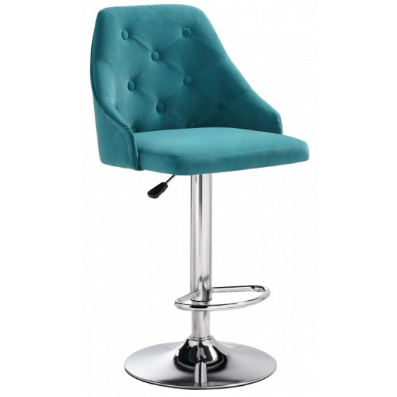 Барный стул Laguna blue velour