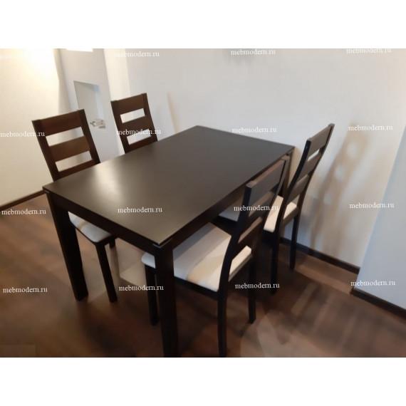 Обеденная группа стол Rosa и 4 стула Kirill
