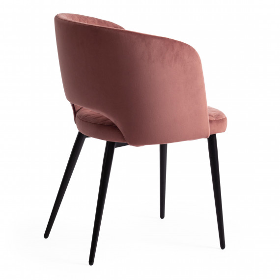 Кресло WIND (mod. 717) коралловый barkhat 15 /черный