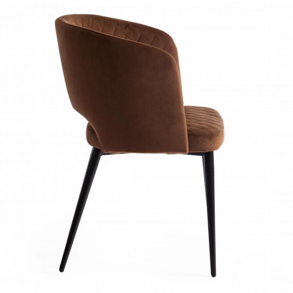 Кресло WIND (mod. 717) коричневый barkhat 11/черный