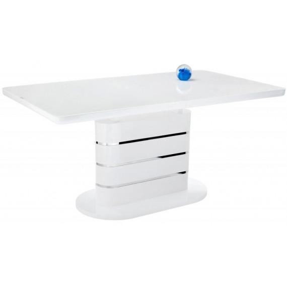 Стол Plas super white