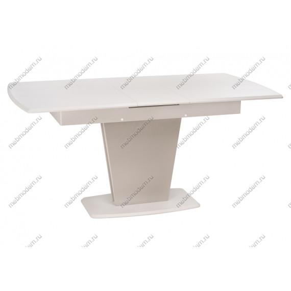 Стол Валмиера мускат структурный/массив латте