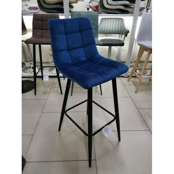 LECCO UF910-18 NAVY BLUE барный стул, велюр