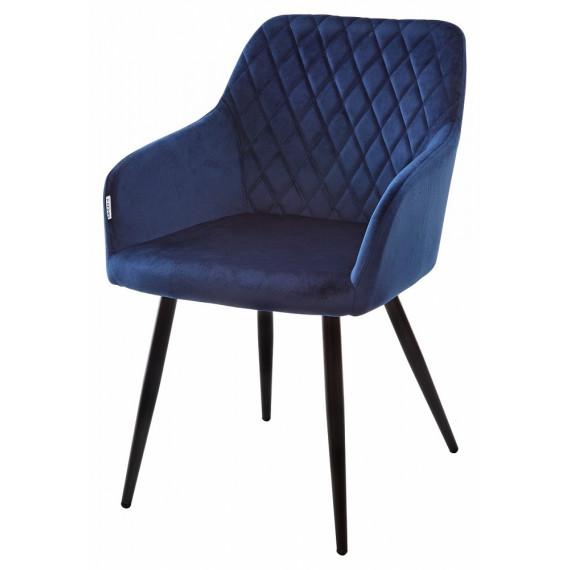 Стул BRANDY синий, велюр G062-49