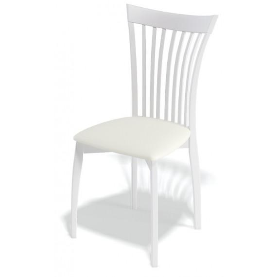 Стул 102М белый/белый
