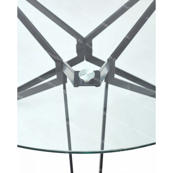 Стол VENETO D110 прозрачный