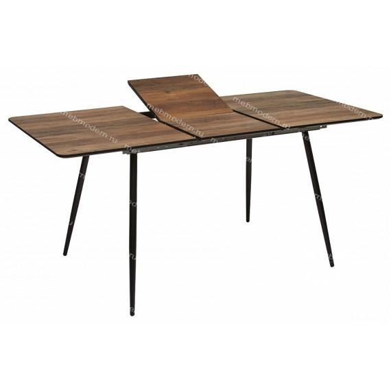 Стол Virgo MK-7209-WD орех/черный