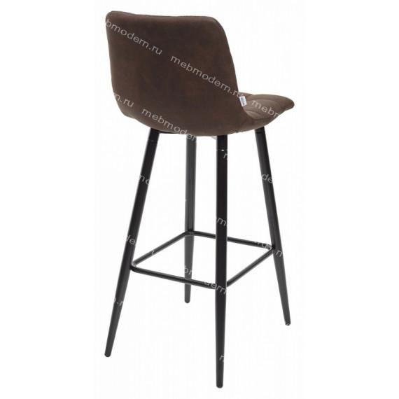 SPICE PK-03 Барный стул коричневый, ткань микрофибра