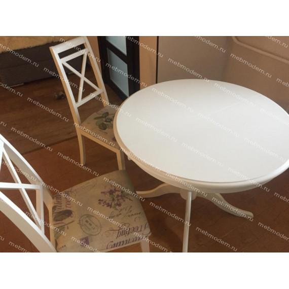 Обеденная группа SA-T4EX Siena/Picasso прованс Ivory white