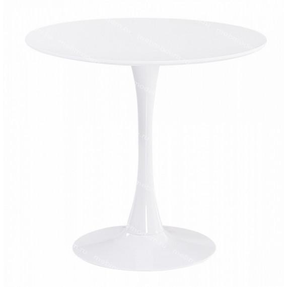 Стол COLUMN T631 WHITE D80