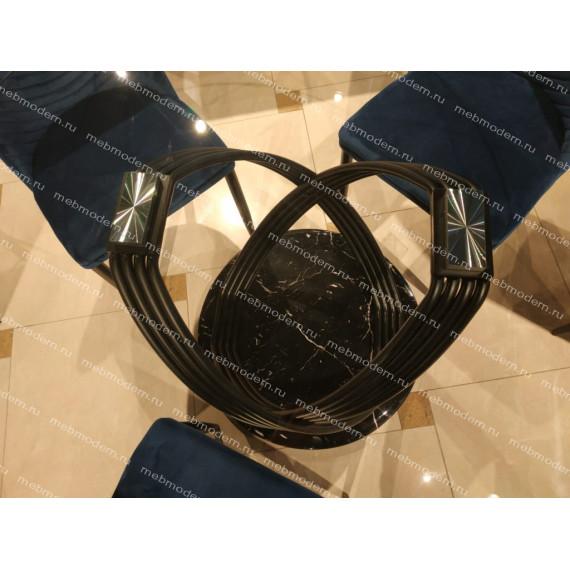 Стол Сатурн MK-6920-BL черный