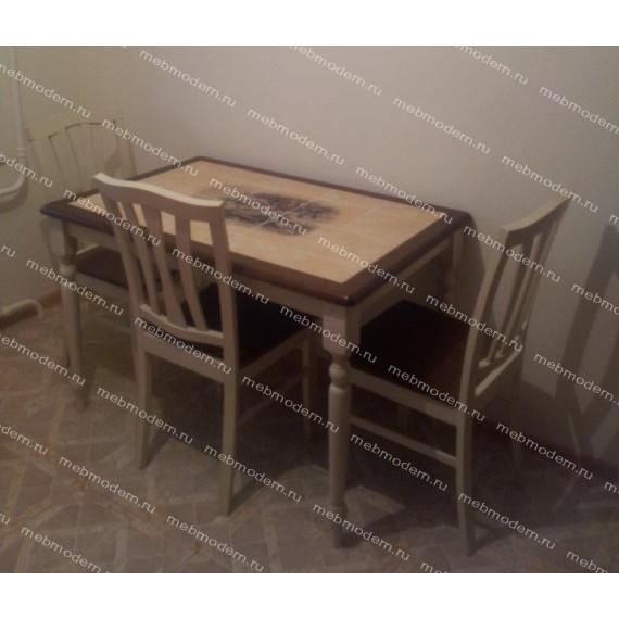 Обеденная группа 3045 (стол + 4 стула)