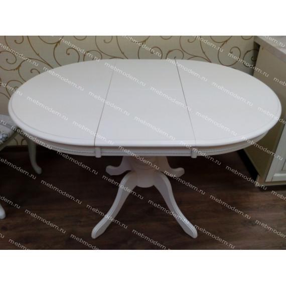 Стол раскладной Toskana 90 молочно-белый