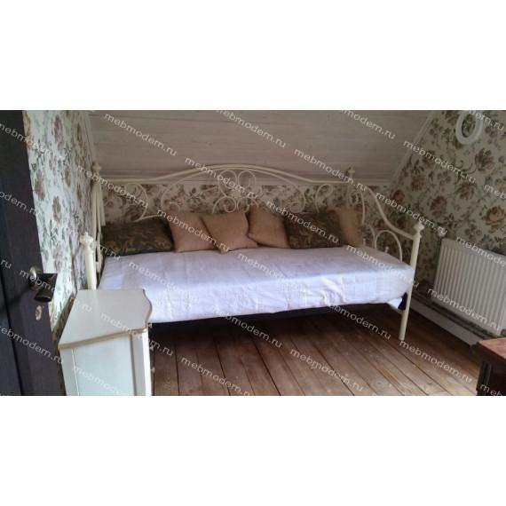 Кровать 9910 - 90*200 см Antique White