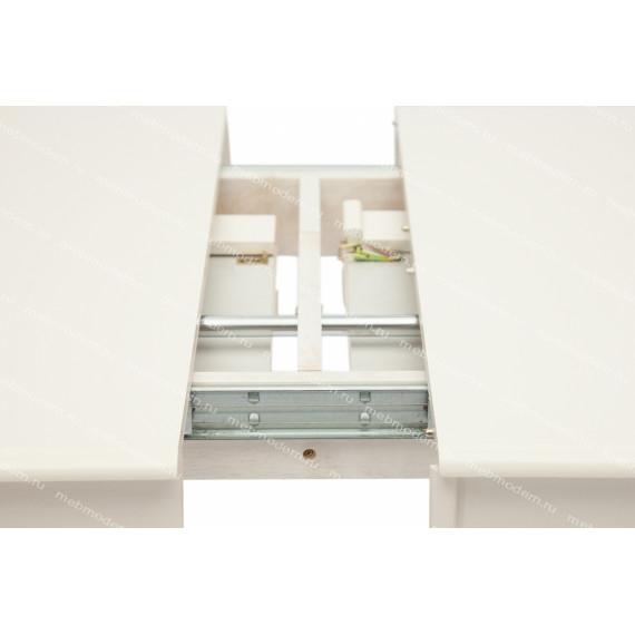 Стол обеденный раскладной «Сиена» (Siena SA-T6EX2L) Ivory White