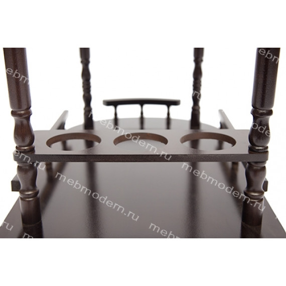 Стол сервировочный 3512 темный орех