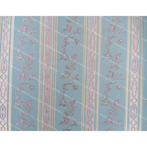 Стул Siena (SA-SC) ivory white ткань БИРЮЗОВАЯ 180-19
