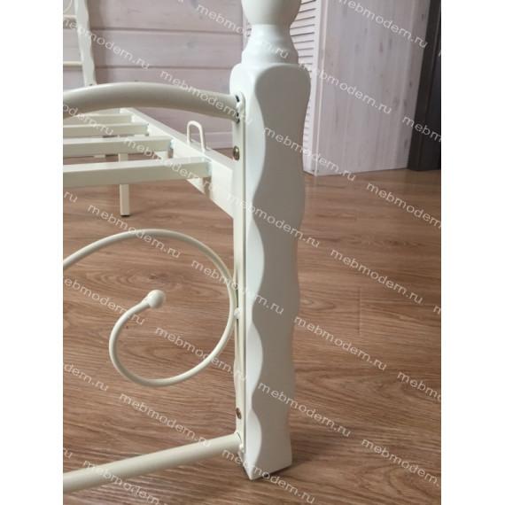 Кровать Канцона (Canzona) 120х200 см butter white