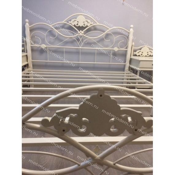 Кровать Канцона (Canzona) 160х200 см butter white