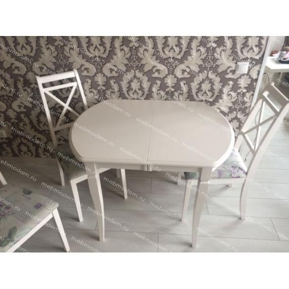 Обеденная группа MODENA/PICASSO ivory white