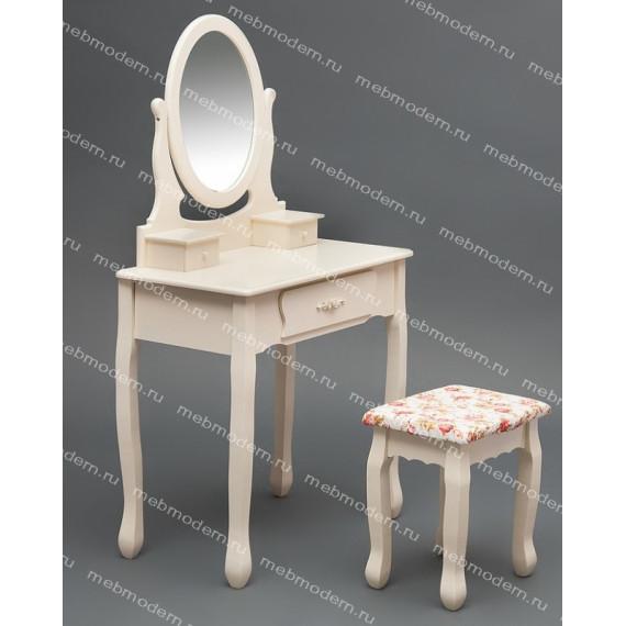 Туалетный столик с зеркалом и табуретом HX15-075