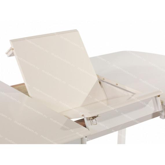 Стол Alicante AL-T3EX Ext. (Butter White)