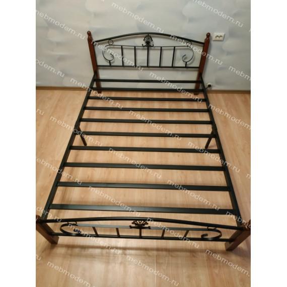 Кровать двуспальная РУМБА (AT-203)/ RUMBA 160х200)
