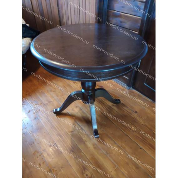 Стол обеденный Фабрицио 1 темный орех