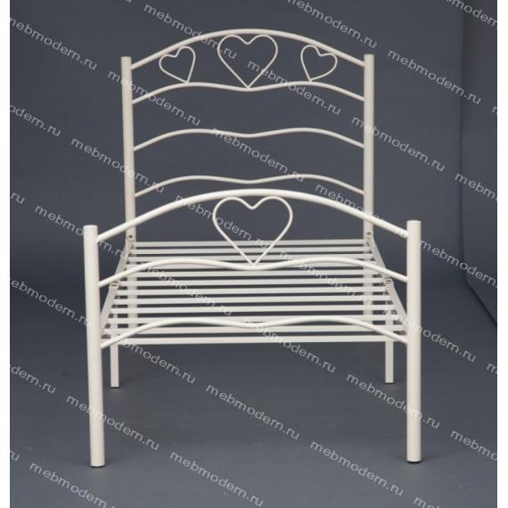 Кровать односпальная «Рокси» (Roxie) белый