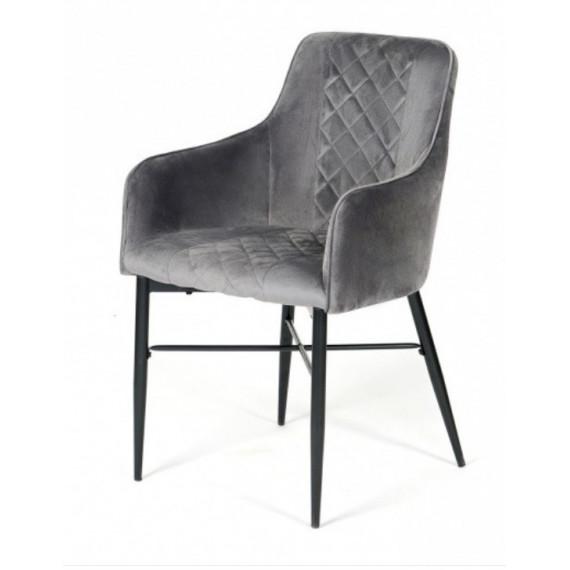 Кресло FORZA (mod.5175-2) серый/черный